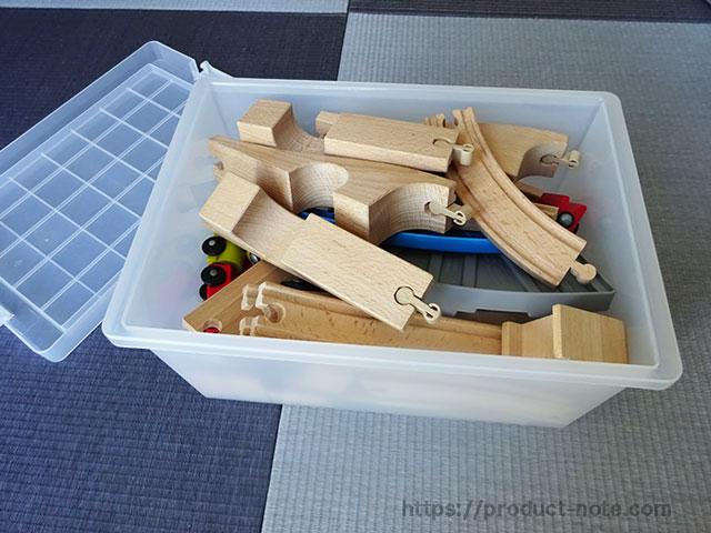 PPキャリーボックス(IKEAリブラー)