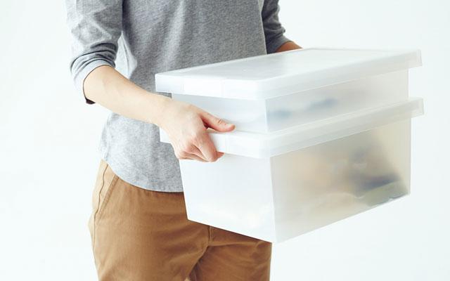 PPキャリーボックス(小)はちょうど良い大きさ