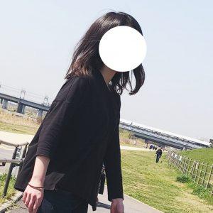 モダールコットンドルマンスリーブ七分袖Tシャツ,無印良品